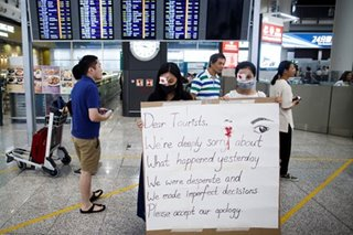 Filipinos told to avoid Hong Kong airport, some areas as protests continue