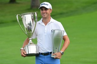 Golf: Relieved Thomas wins BMW Championship by three strokes