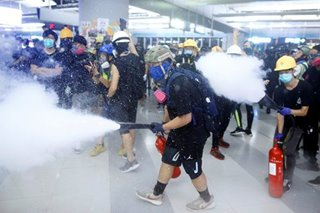 Hong Kong tensions rise again