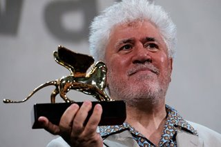 Almodovar gets lifetime achievement award at Venice Film Festival