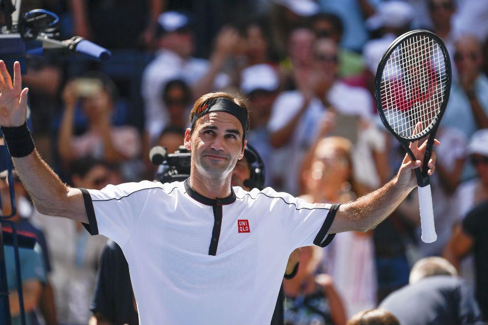 Federer records quickest men's win at 2019 US Open