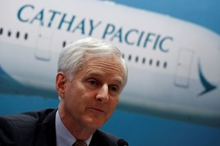 Cathay Pacific chairman John Slosar retiring: statement
