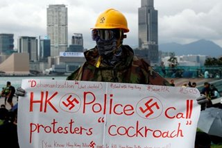 Hong Kong protesters appeal to Merkel before China visit