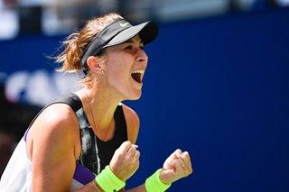 Tennis: Bencic bounds into first-ever Grand Slam semifinal