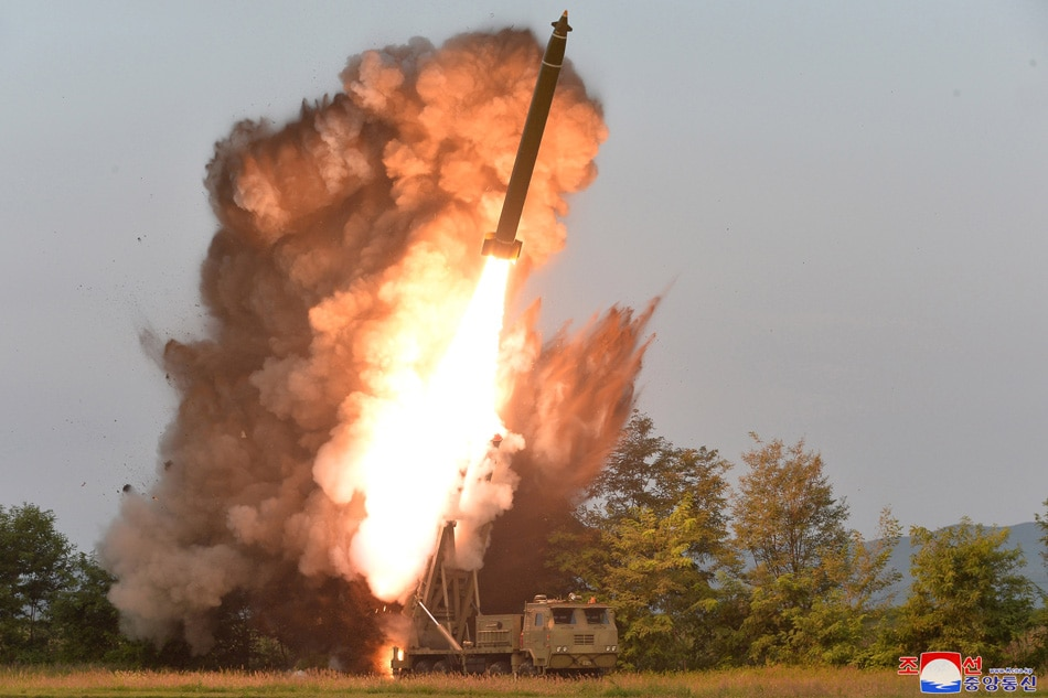 North Korea says it test-fired a 'super-large multiple rocket launcher'