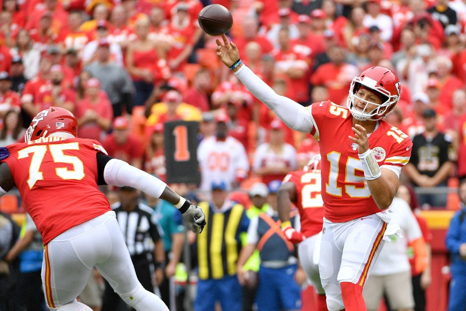 buy popular d71ed 9fd23 NFL: Mahomes leads unbeaten Chiefs over Ravens | ABS-CBN News