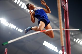 Pinoy pole vaulter at World Athletics Championships