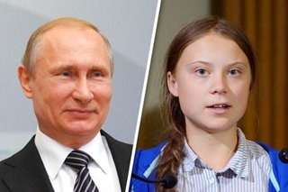 Putin: I don't share excitement about Greta Thunberg's UN speech