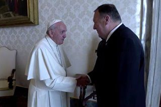 Pope Francis, top US envoy agree on protection of Christians in Middle East