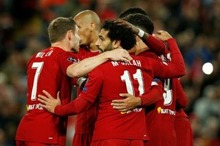 Football: Liverpool win 7-goal thriller after stunning Salzburg fightback