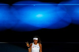 Tennis: Osaka returns to top three after seeing off Barty in Beijing