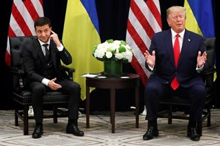 In 14-hour news conference, Ukraine's leader says was not blackmailed by Trump