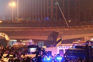 China bridge collapse kills 3, injures 2