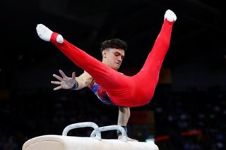Gymnastics: Russia's Nagornyy captures all-around world title in Stuttgart
