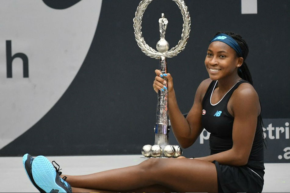 Tennis: Teenager Gauff climbs to 71 after maiden win in Linz
