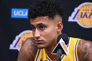 Lakers' Kuzma ruled out for NBA season opener