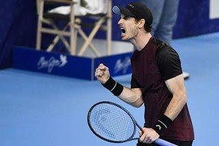 Tennis: Murray beats Wawrinka to win first title since hip surgery
