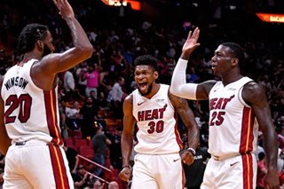 NBA: Heat pull away from Grizzlies for opening win
