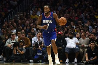 NBA: Leonard brings his dominance to dangerous Clippers