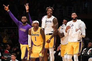 NBA: Davis' 40-point, 20-rebound night carries Lakers past Grizzlies