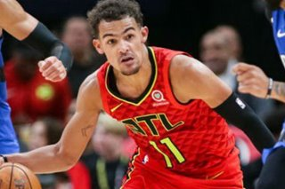 NBA: Hawks' Young out after spraining ankle vs. Heat