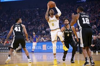 NBA: Warriors begin life without Curry with loss to Spurs