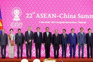 Beijing says 'ready to work' with ASEAN on South China Sea rules
