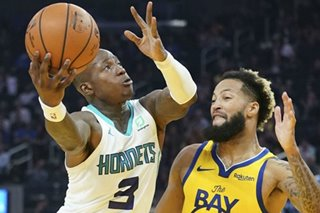 NBA: Hornets hang on to beat depleted Warriors