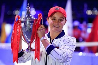 Tennis: Barty ends stellar season with WTA Finals win over Svitolina