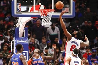 NBA: Pistons hand Knicks 7th loss in 8 games