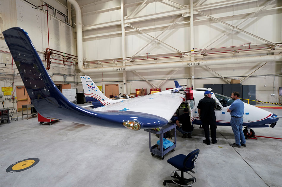 Updates: Nasa Introduces Its First Electric Airplane X-57