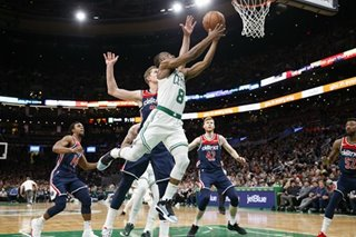 NBA: Walker-led Celtics defeat Wizards for ninth straight win