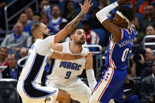 NBA: Vucevic, Magic pull away from Embiid-less 76ers