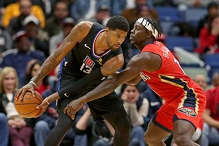 NBA: Holiday, Pelicans spoil George's Clippers debut