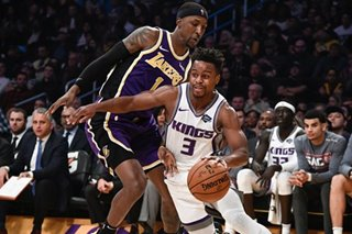 NBA: Anthony Davis' late block rescues Lakers vs. Kings