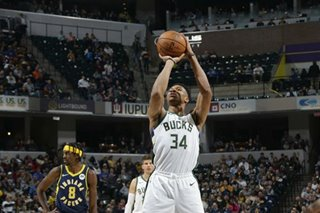 NBA: Antetokounmpo, Bucks rout Brogdon-less Pacers