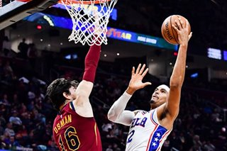 NBA: Harris, Embiid lead 76ers in rout of Cavs