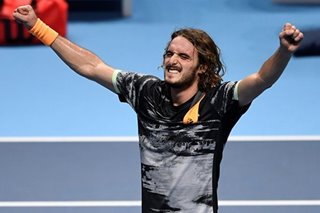 Tennis: Tsitsipas fights back to beat Thiem and claim ATP Finals title
