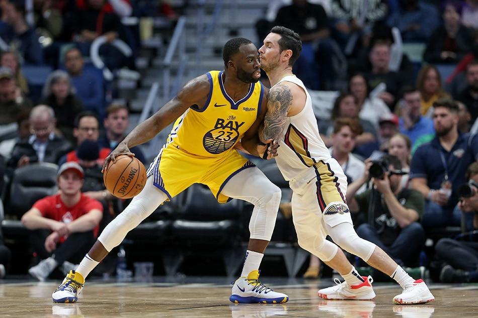 NBA: Redick helps Pelicans hold off Warriors
