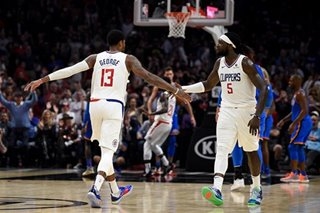 NBA: George, Clippers sink Thunder in final seconds