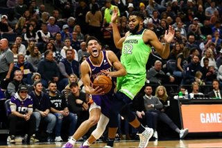 NBA: Booker helps Suns top Wolves to snap skid