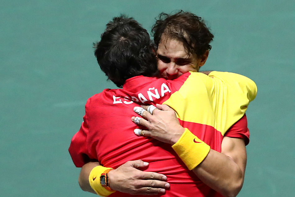 Rafael Nadal hails Spain's 'unforgettable' Davis Cup win