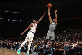 NBA: Dinwiddie leads Nets past Knicks for third straight win