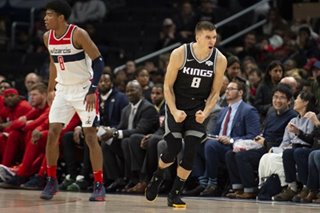 NBA: Bogdanovic, Kings hold off Wizards late