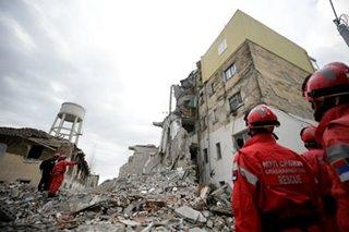 No Pinoy hurt in Albania quake - DFA