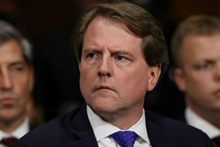 Trump administration wants order for McGahn testimony put on hold