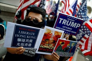 China sanctions US over Hong Kong unrest