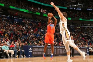 NBA: Paul helps Thunder sweep home-and-home with Pelicans