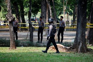 Suspected grenade blast near Indonesia's presidential palace hurts 2