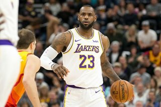 NBA: Davis, LeBron carry Lakers past Jazz